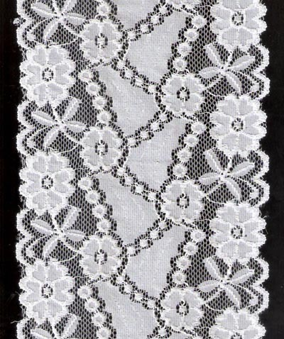 White Color Stock Lace