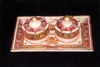 Marble Box With Tray