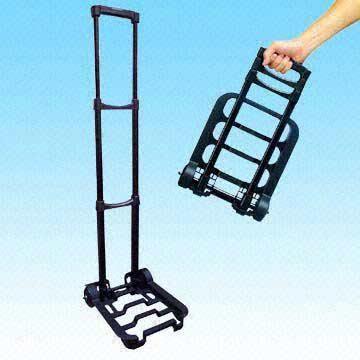 Luggage Handcart With Keystroke Handle