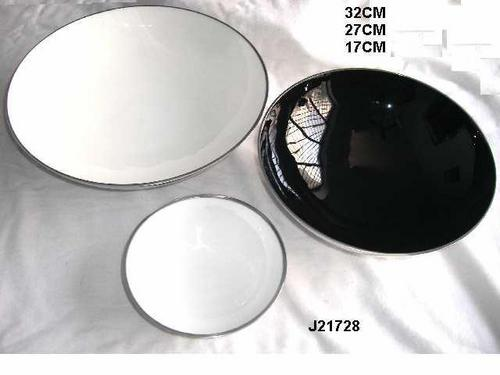 Aluminum Bowl With Food Safe Enamel