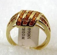 Gold Plated Silver 925 Rings