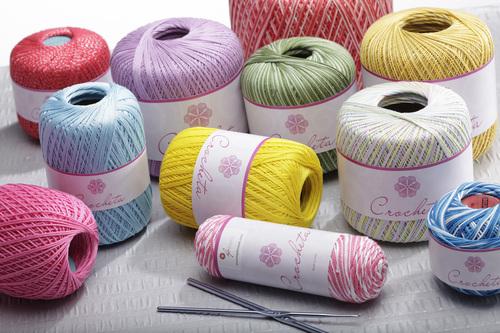 Cotton Crochet Knitting Threads Hp Cotton Textile Mills Ltd F