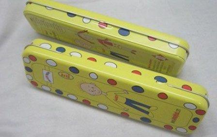 Fancy Metal Pencil Box