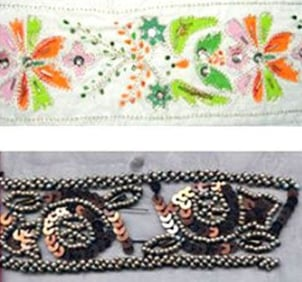 Beaded Laces For Garment