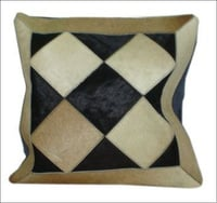 Fancy Leather Cushion Cover