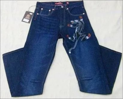 Ed Hardy Denim Jeans Age Group: <16 Years