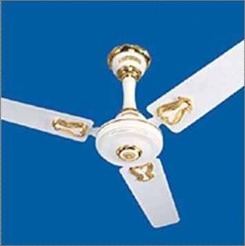 Electric White Ceiling Fan