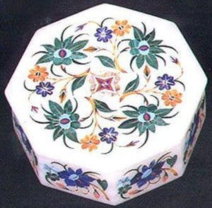 Handcrafted Marble Jewellery Boxes