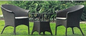 Designer Poolside Table And Chair