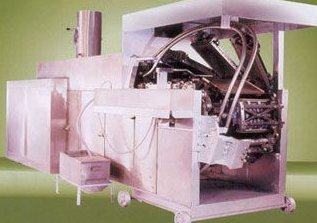 Industrial Automatic Wafer Baking Oven Power Source: Gas