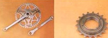 Bicycle Chain Wheel And Freewheel Size: Vary
