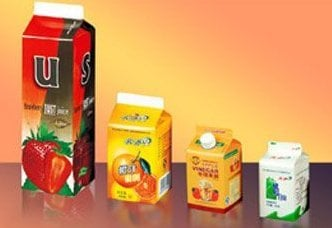 Gable Top Paper Cartons Size: Vary