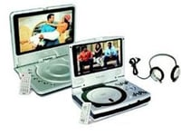 Mobile LCD TV And DVD Player