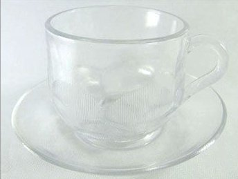 Clear Glass Coffee Cup Set Vary Size