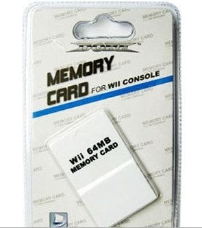Wii Console Memory Card 64MB