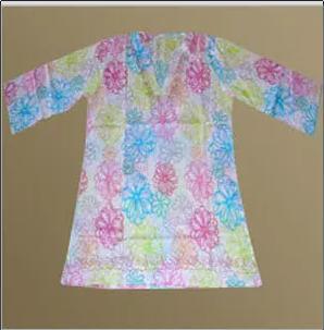 Full Sleeve Printed Kaftans