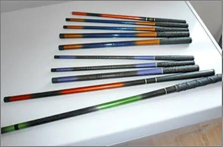 Multi Color Fishing Rods