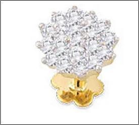 Designer Diamond Nose Pins Fair