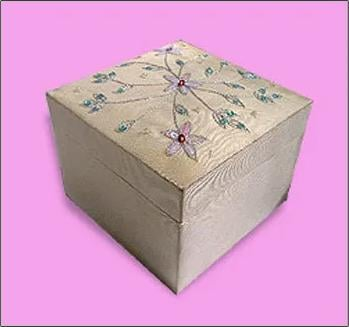 Designer Jewellery Box  Length: Various Length Are Available Inch (In)