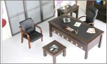 Modular Office Chair and Tables