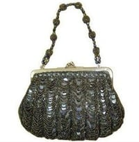 Ladies Beaded Frame Bag