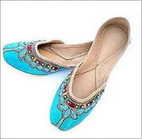 Indian Traditional Ladies Leather Mojaries