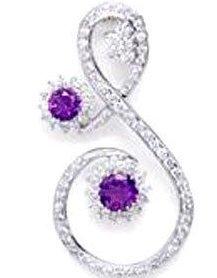 American Diamond Studded Pendant