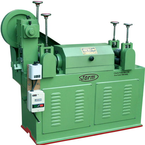 5 H.P Motor Power Wire Straightening And Cutting Machines