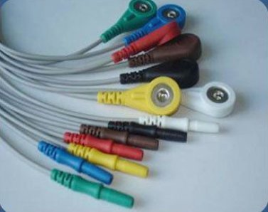 Vary Din Style 7 Lead Holter Wires