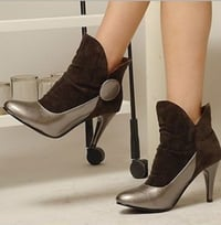 Ladies Leather Short Boots