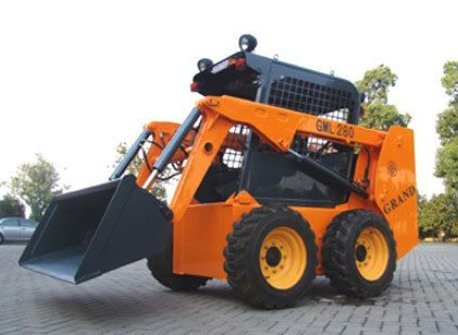 Industrial Skid Steer Loader Construction