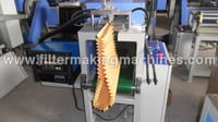 Adhesive Applicator For Pleat Edge Sealing