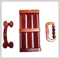 Brown Colour Wooden Massager