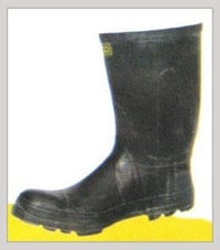 Long PVC Steel Toe Gum Boot