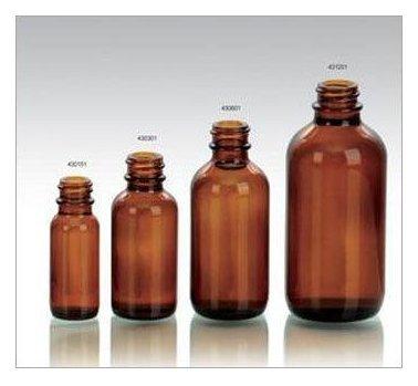 Brown Medical Plastic Bottle
