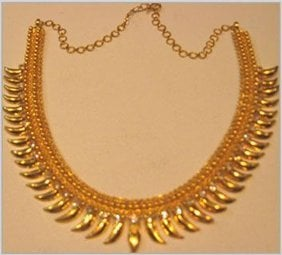 Womens Yellow Gold Necklace