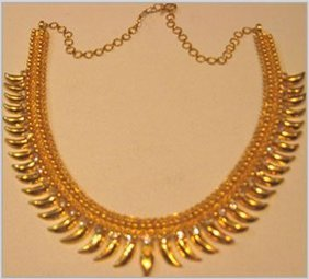 Womens Yellow Gold Necklace Gender: Women'S