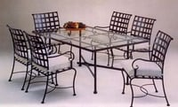 Wrought Iron Dinning Tables
