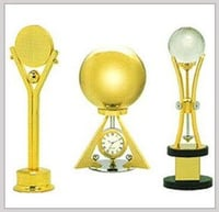 Customized Design Crystal Brass Trophies