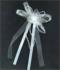 Bows With Ribbons And Satin