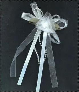 Vary Bows With Ribbons And Satin