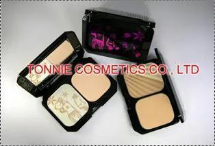 Ladies Cosmetic Pressed Powder