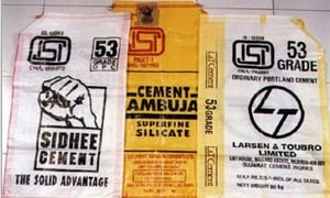 Cement Packaging HDPE Bags