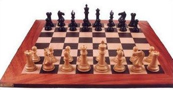 Wooden Economical Tournament Flat Chess Board