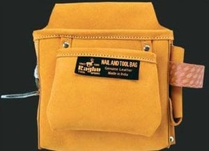 Leather Nail And Tool Bags