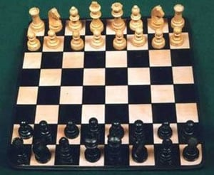 Magnetic Chess Tin Plates