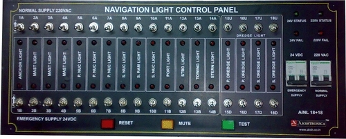 Navigational Light Control Panel