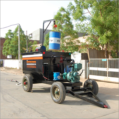 Bitumen Emulsion Sprayer With Dust Remover