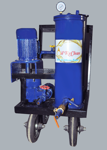 Mechanical Oil Filtration System