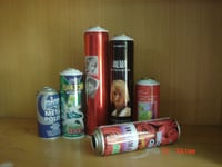 52mm Tinplate Aerosol Packaging Cans